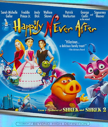HAPPILY N'EVER AFTER BY GELLAR,SARAH MICHEL (Blu-Ray)